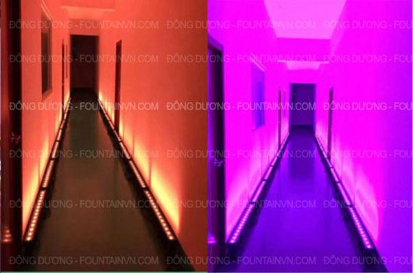Đèn led sáng lối đi, tường nhà, thác nước X001
