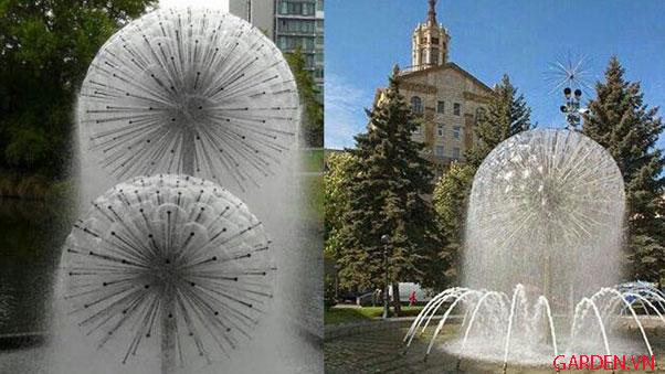Thiết kế đài phun nước