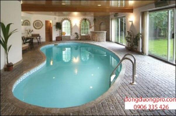Xây hồ bơi cho trẻ tại nhà