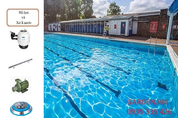 Chi phí mua thiết bị cho xây dựng bê bơi kinh doanh