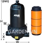 Bộ lọc đĩa Azud AGL 100 micron.