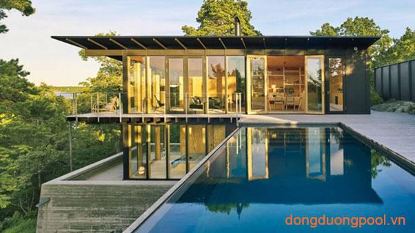 Thiết kế bể bơi gia đình