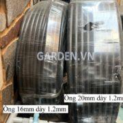 Ống mềm Pe 16mm,dày 1.2mm hàng Việt Nam2