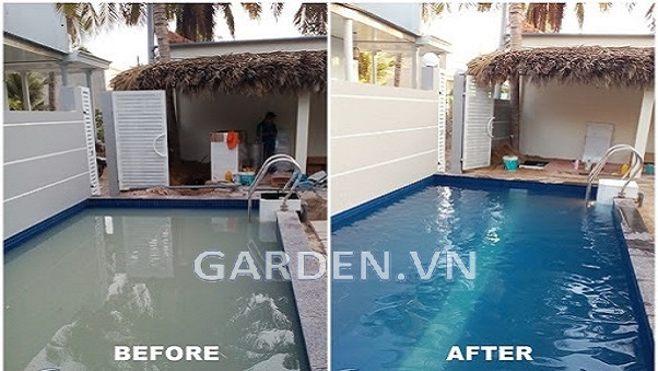 Hệ thống lọc nước bể bơi - Xử lý nước cho bể bơi
