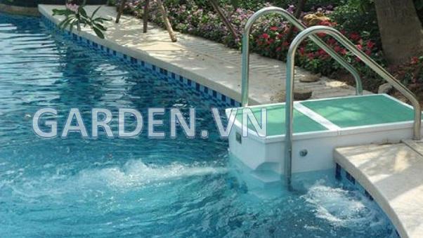 Hệ thống lọc nước bể bơi không có đường ống - Xử lý nước cho bể bơi