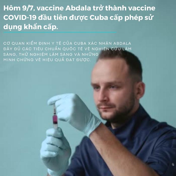 Vaccine Abdala của Cuba vừa được Bộ Y tế phê duyệt có hiệu quả thế nào?